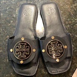 Tory Burch shoes women's size 7 black gold